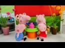 Игры для девочек Свинка Пеппа идет в салон красоты