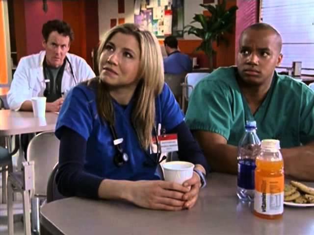 Клиника одиночество Scrubs 2x18 My T C W
