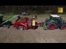 Kartoffeln pflanzen legen Fendt 828 Grimme GL430 Pflanzmaschine Lüneburger Heide Potato planting