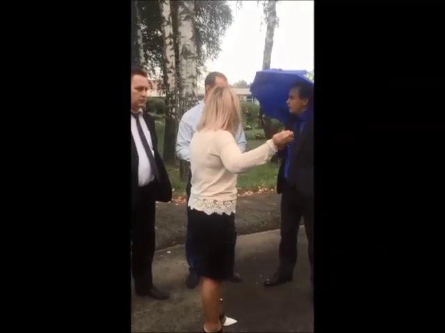 Пикет ЛДПР у департамента образования Брянской области