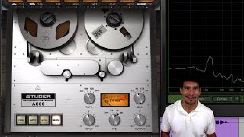 UAD Oxide Studer A800 Ampex ATR 102