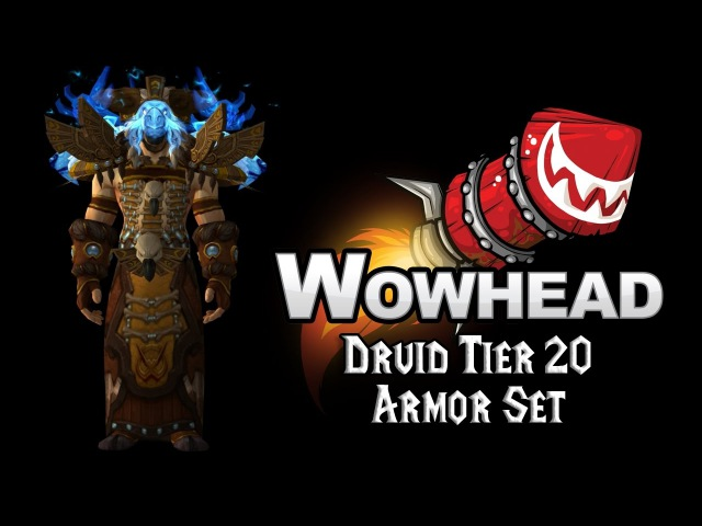 Druid Tier 20 Armor Set - Stormheart Raiment