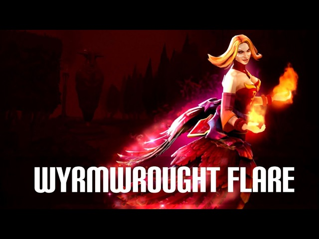 Имморталка на Лину Wyrmwrought Flare Immortal Treasure II 2017