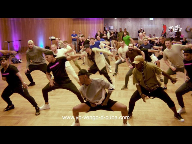 Gentlemen`s Dance Battle - Yo Vengo de Cuba 2017 - Cuban Salsa Power Congress