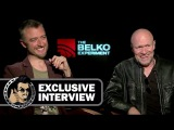 Sean Gunn & Michael Rooker Exclusive THE BELKO EXPERIMENT Interview (JoBlo.com) 2017