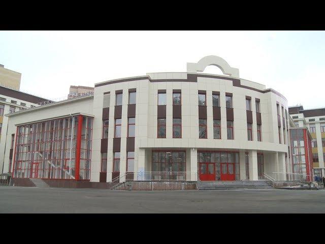 Самая большая школа в Тюмени почти готова к открытию