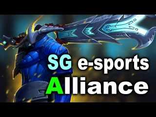Alliance vs SG Esports (BR) - WESG 1/4 Final Dota 2