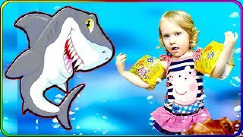 Baby Shark Ду ду Песенка про Акулу малыша и его семью Baby Shark Song for Kids Baby Nursery Rhymes