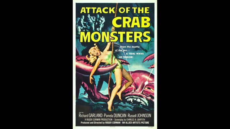 Атака крабов-монстров / Attack of the Crab Monsters (1957)