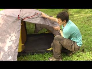 Палатка BASK для серьезных походов. Doropey D.