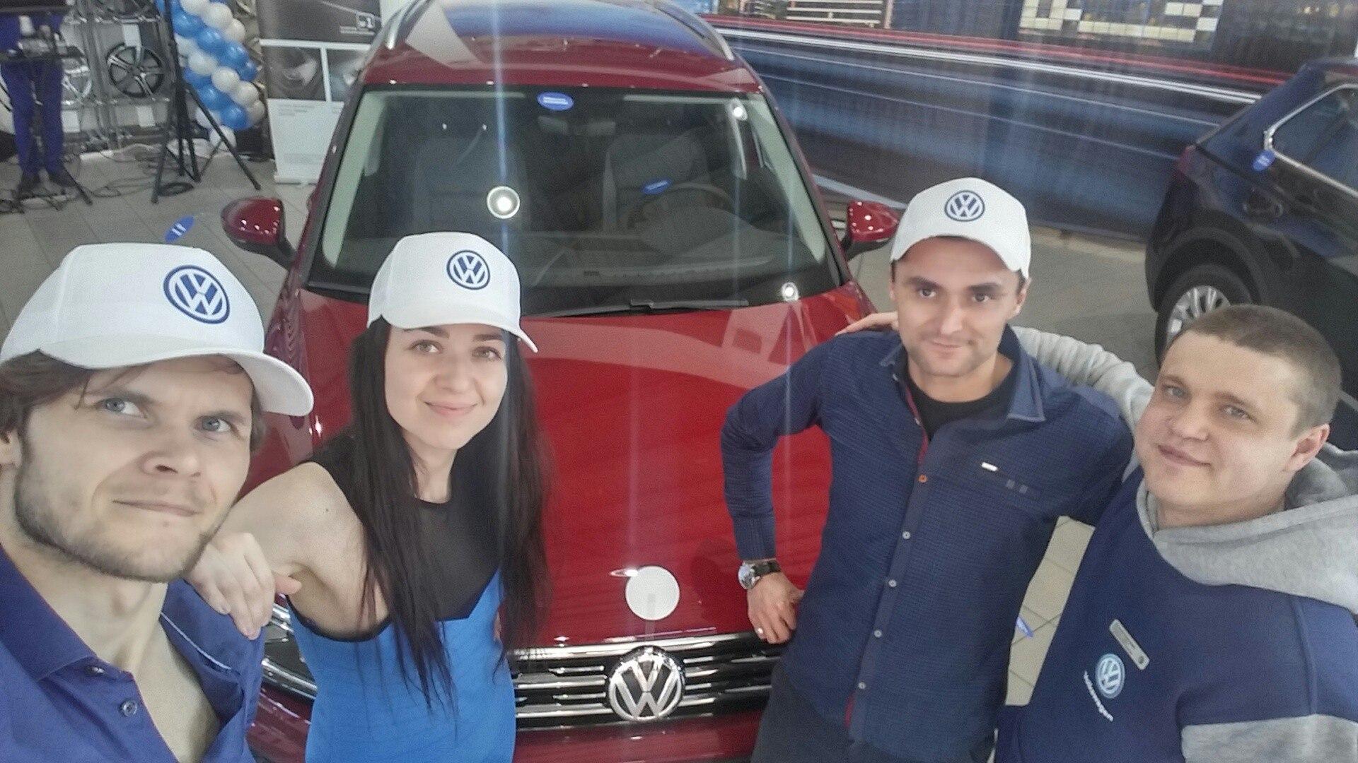"""Группа """"Таврика"""" на презентации новой модели авто """"Volkswagen Tiguan"""""""