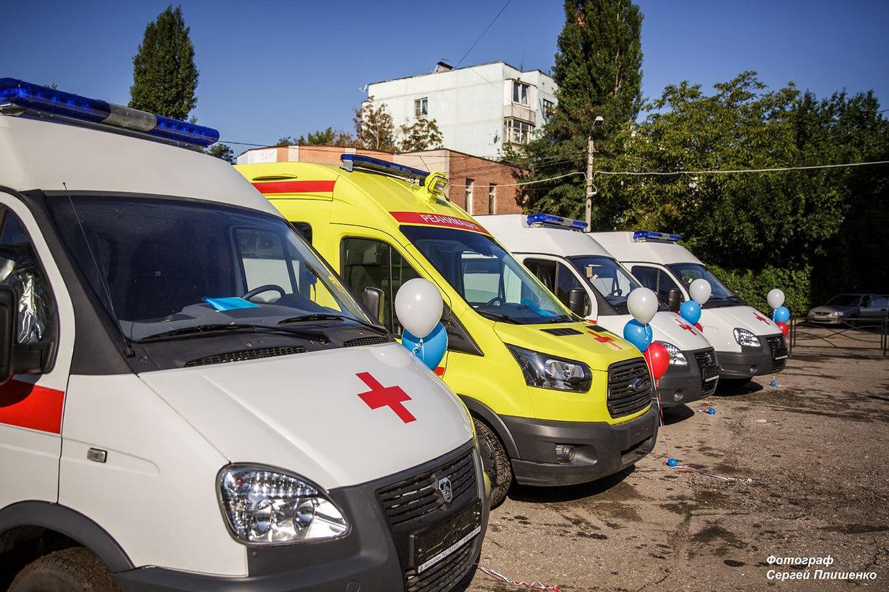 В Таганроге обновился автопарк «скорой помощи»