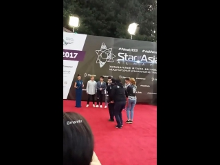 U-KISS - Red Carpet of 'Star of Asia' - fancam by Marzhana Dzhuldieva (20.08.17)