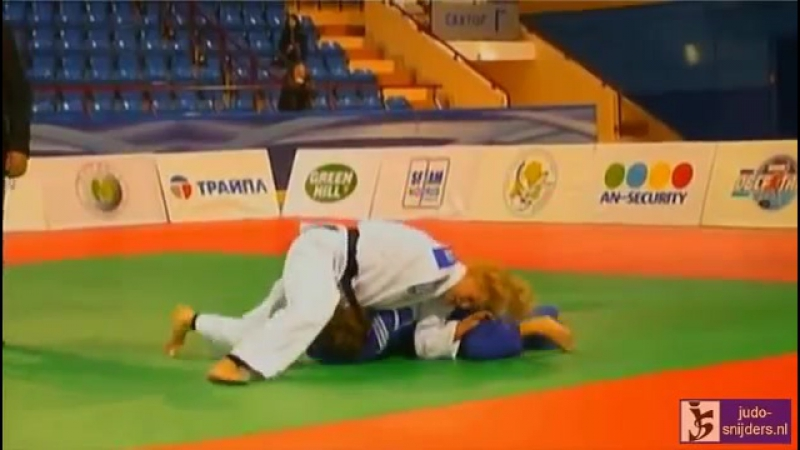 Judo 2013 European Open Minsk׃ Levytska (UKR) - Bonna (FRA) [-52kg] rep