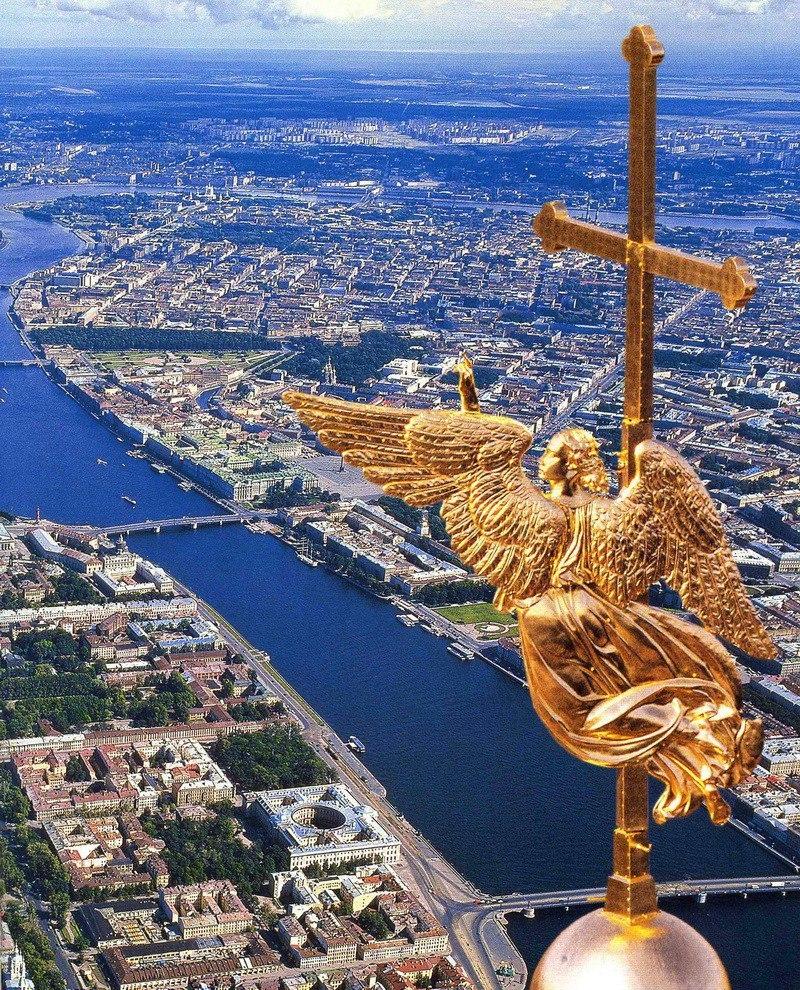 С днём рождения Петербург