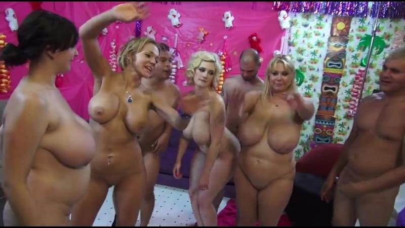 Зрелые мамы устроили оргию, bbw mature woman group sex porn orgy fuck saggy milky tits