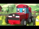ЧиЧиЛенд - В деревне - Микроавтобус становится трактором! Новые мультфильмы про трансформеры
