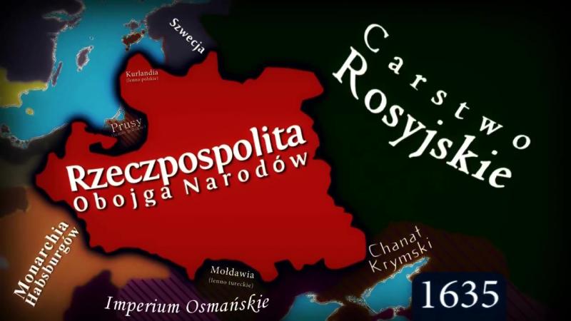 Polska - zobacz jak zmieniała granice!