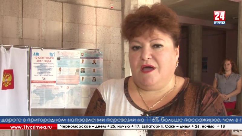 Более 113 тысяч крымчан заявлено по двум одномандатным округам голосующих за кандидатов в Государственный Совет