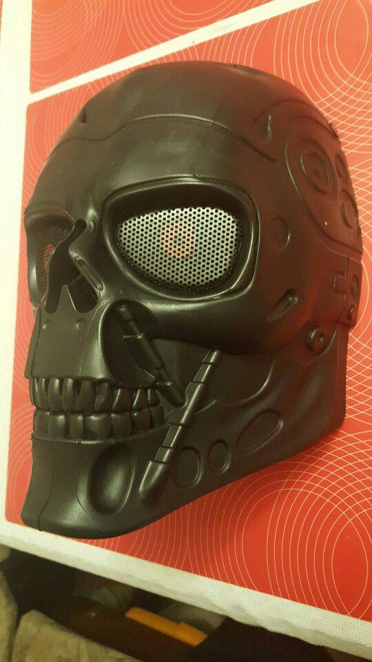 Защитная маска Терминатор 2