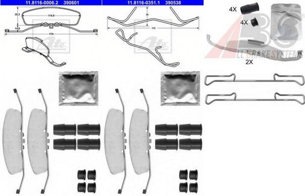 Тормозной суппорт для AUDI TT купе (FV3)