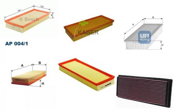 Воздушный фильтр для AUDI V8 (44_, 4C_)