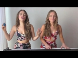 ATTENTION - Charlie Puth COVER (French version at the end !)- Twin Melody