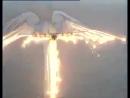 .C-130 «Геркулес» показывает ангела в небе ...Пилотам браво!...