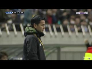 GOAL (Shinji Kagawa) Japan 1 - 0 Thailand