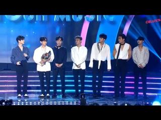 VIDEO 170920 EXO @ Soribada Awards | Popularity Award