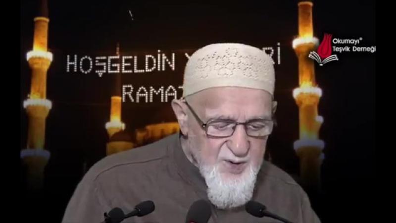 831 - Orucun Fazileti Sevabı (Ahmet Tomor Hocaefendi)
