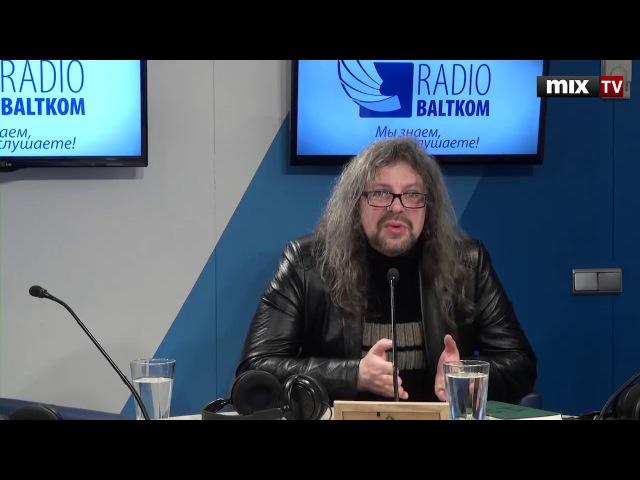 Российский поэт, литературный критик, издатель Дмитрий Кузьмин в программе КультпросветMIXTV