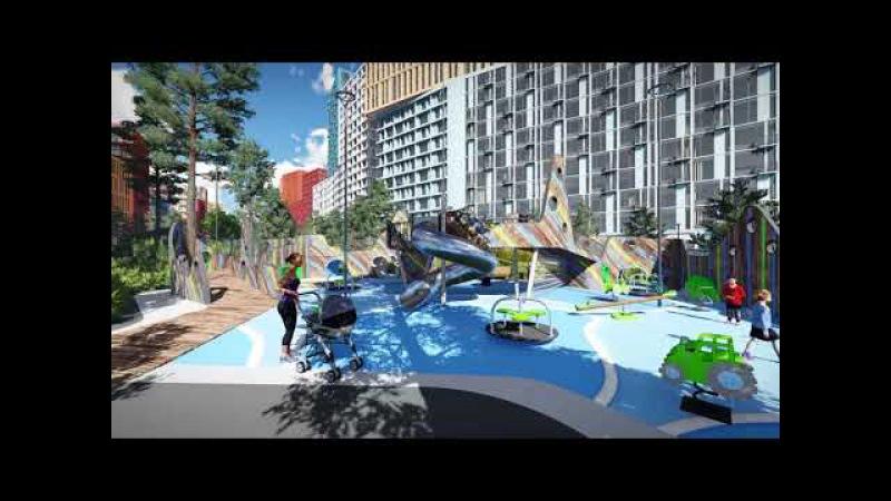 Житловий комплекс SVITLO PARK: внутрішній простір