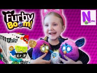 Ферби Бум Аксессуары для Ферби Очки Furby Boom glasses review Видео для детей