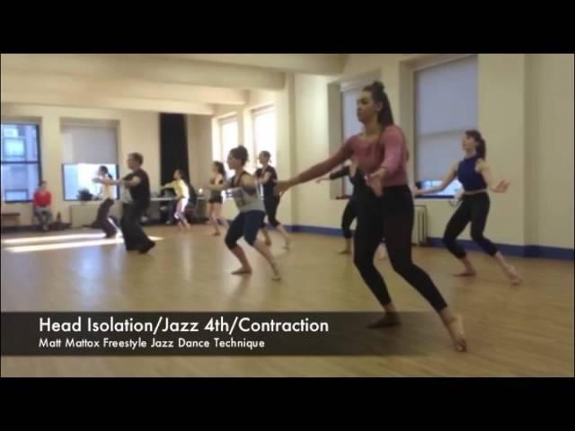 Matt Mattox Freestyle Jazz Dance Technique/Choreography - June 8, 2016