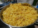 Delicious rice with chick peas and carrot have recipe אורז טעים עם גרגירי חומוס וגזר יש מתכון