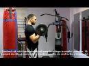 Flexii cu bara Z exercițiul pentru biceps cu Stas Maxemencu Episodul X