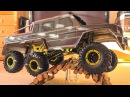 UNBOXING HSP RC MONSTERTRUCK RTR CRAWLER 6 x 6 CLIMBER ROCK FIGHTER FIRST INDOOR TEST