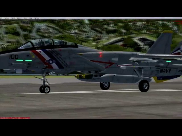 FSX P3D HD stunning FREEWARE Dino Cattaneo F-14 Tomcat, a review