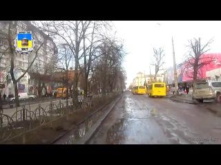 Черкасский троллейбус- Дорожные препятствия 24.02.2017