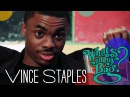 Vince Staples — What's in My Bag?