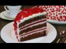Торт Рубиновый очень эффектный оригинальный и вкусный ✧ Ruby Emerald Cake English Subtitles