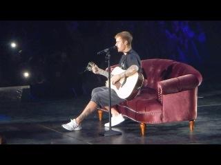 Justin Bieber - Fast Car - Purpose Tour Antwerp october 6 2016