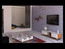 Дизайн однокомнатных квартир площадью от 36 до 40 кв. м
