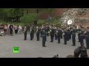 Концерт в Александровском саду в честь открытия летнего сезона программы Воен
