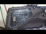 Toyota LC Prado 150 - шумоизоляция потолка и багажника
