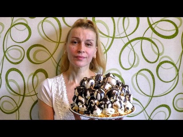 Торт Графские Развалины - вкусный домашний торт безе