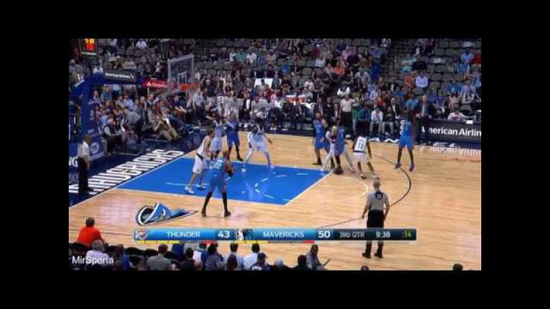 Dallas vs Oklahoma City Баскетбол. НБА. Даллас Маверикс - Оклахома Сити Тандер 28.03.2017
