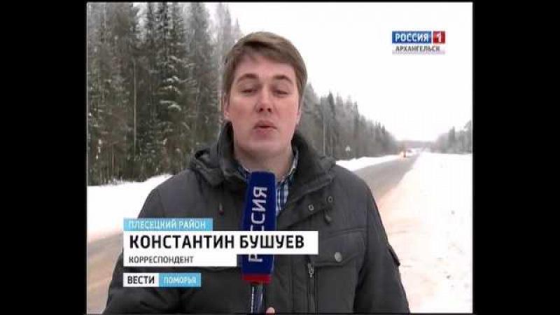 В Плесецком районе торжественно открыли новый участок дороги Брин-Наволок - Пле ...
