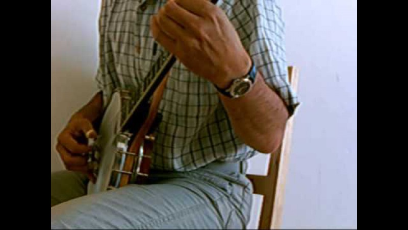 Grandfather's Clock on DGdg tenor banjo